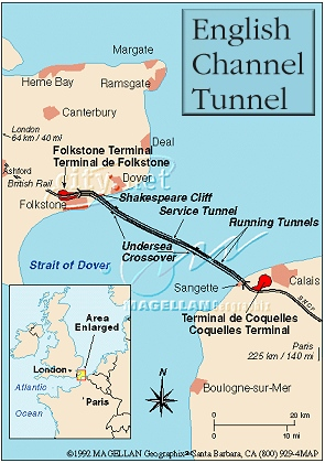 how long is the english channel tunnel